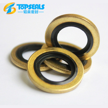 Topseals Mechanical Seal Thick Bonded O Ring Rubber Metal Washer ...