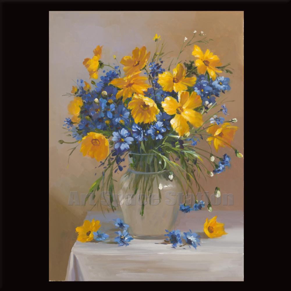 Eletragesi Daisy Acrylic Painting Images