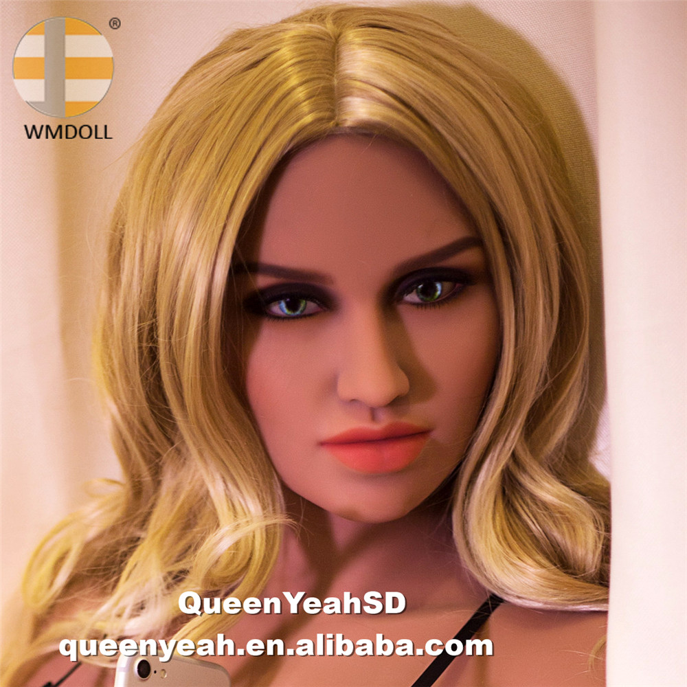 WMDOLL NEW Top quality Silicone Sex Doll Head For Real Doll Sex Toy With Oral <strong>Sexy</strong>