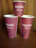 high quality Heat disposable insulated paper coffee cups 16oz with logo printed