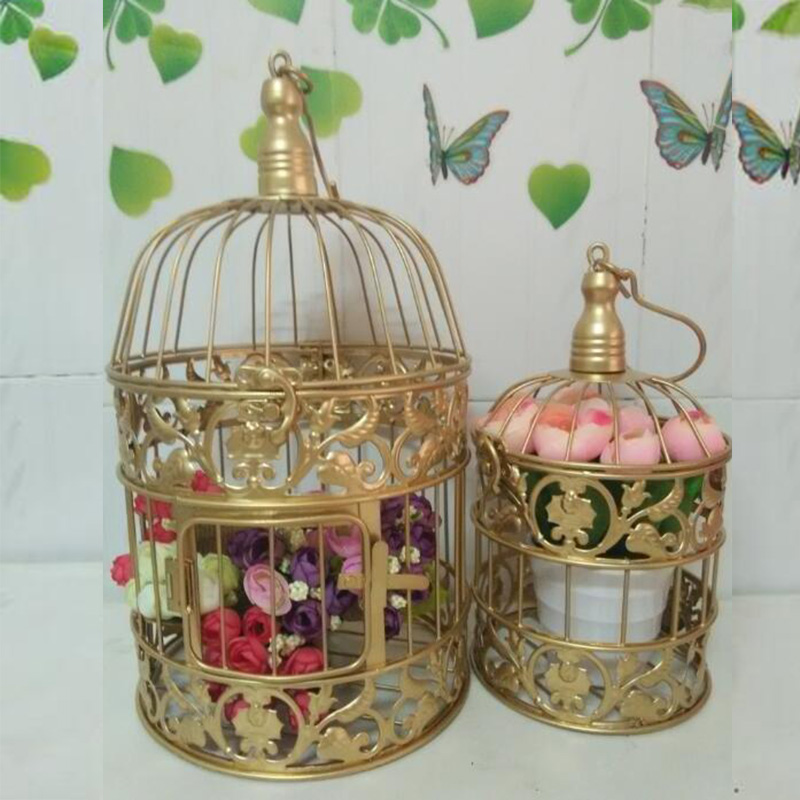 online get cheap decorative bird cages weddings alibaba group. Black Bedroom Furniture Sets. Home Design Ideas