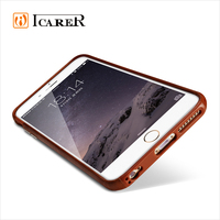 Real Leather Case for Apple for iPhone 6 6S Plus Ultra Thin Mobile Phone Back Cover for iPhone6 4.7 5.5 Inch