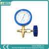 HBS digital manifold gauge for r410a r22 r134a with pipe