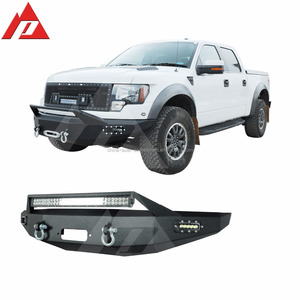LED Front Winch Bumper for 10-15 F-150 SVT Raptor