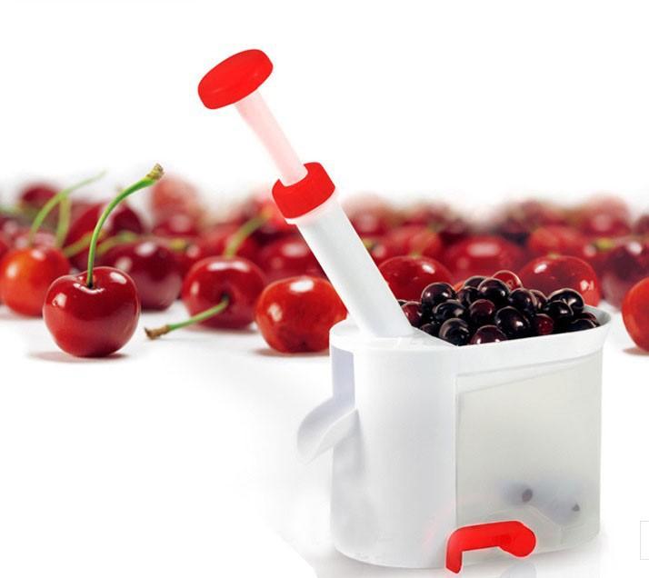 2015 бесплатная доставка новинка супер вишневый Pitter камень для снятия машины вишня бур с контейнером кухня станок для вишня
