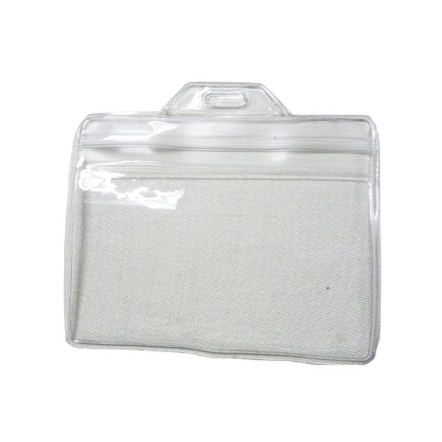 Buy cheap china clear plastic business card holder products find wholesale custom logo soft clear business plastic card holder colourmoves