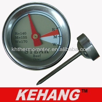 Stainless Steel Dial Mini Advertising Thermometers