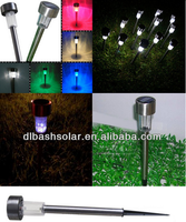 Solar Outdoor Bollard Lights,Led Garden Light,Stone Light