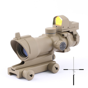 SPINA 4x32 Hunting Tactical optics Rifle scope RMR Red Dot 20mm Picatinny Rail Mounts