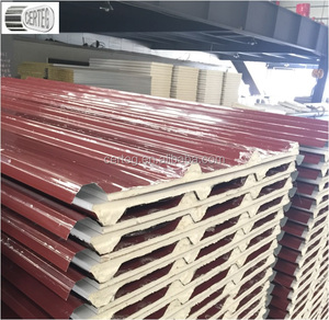 0.4mm Color Steel Sheet and Paper Foil Complex PU Roof Board