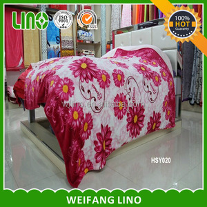 polyester blanket/bed sheet sexy/blanket with zipper