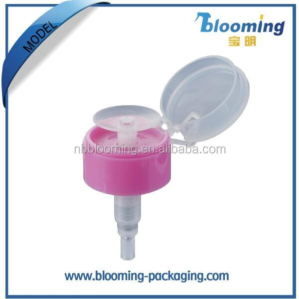 highly quality acrylic Plastic Nail Pump for finger care
