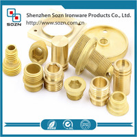 CNC Brass pipe fitting Brass parts manufacturer