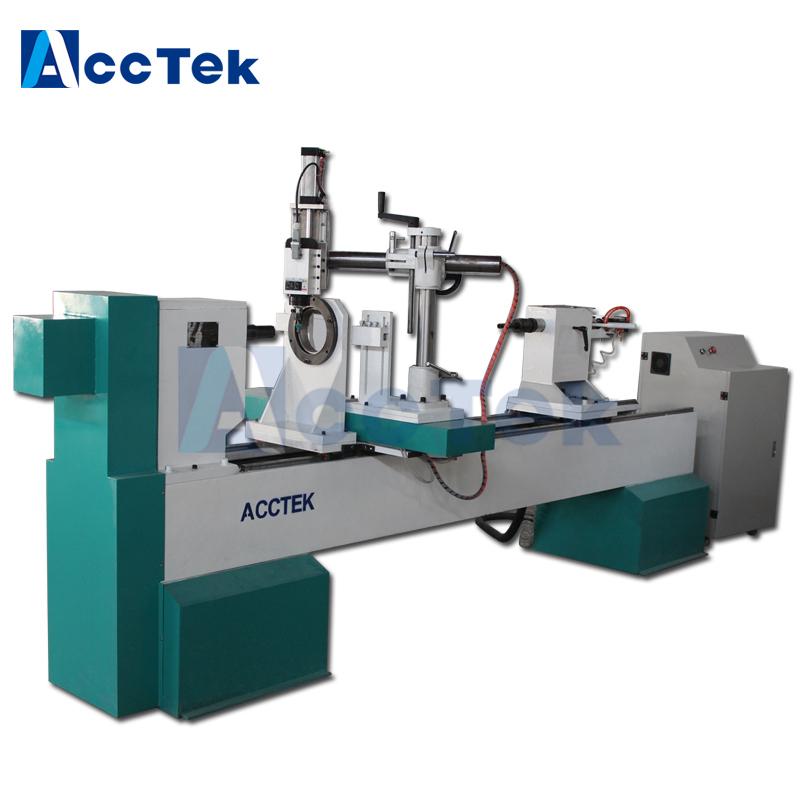automatic wood turning machine