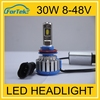 Car Accessories China Wholesale 30w led headlight H11 H7 9004 led lights for cars 30W