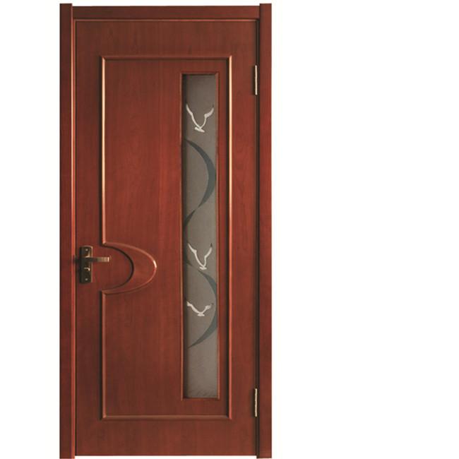 2012 Hot Sale Veneer Wooden Glass Door Model   Buy Wooden Door With Glass,Commercial  Glass Door Sale,Soundproof Glass Door Product On Alibaba.com
