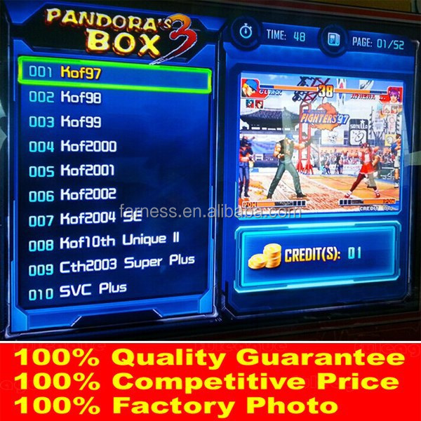 Pandora Box 3 Cga & Vga Output Multi Pcb Game Board Slot Game Board Jamma  Multi Game Pcb - Buy Pandora's Box Game Board,Pandora's Box Board  Game,Multi