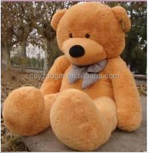 200cm light brown Teddy Bear Giant cute Big Stuffed Animal Plush Soft gift