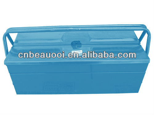 High grade quality double layer iron tool box
