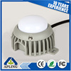 3W Waterproof aluminum PC cover round led point light
