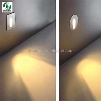 1w Mini Led Recessed Light Hotel Bedroom Livingroom Lighting Wall Corner Lights Step Stair Indoor