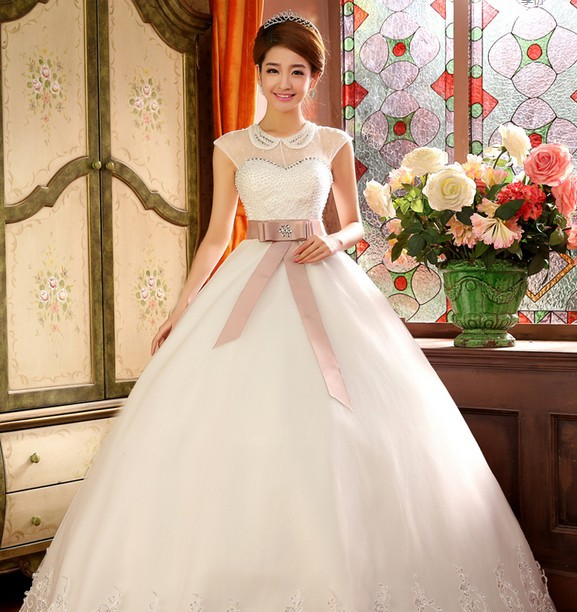 Wedding Gown Korean Style: 2014 New Arriving Korea Style Wedding Dress High Quality