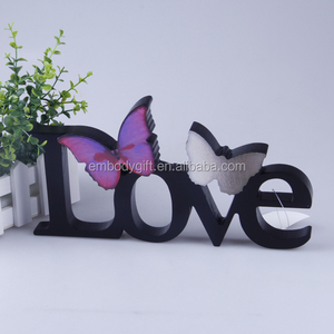 Wooden crafts decorative wooden alphabet letters wholesale