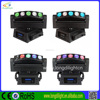 5X10W RGBW moving head lights disco led light dmx 512 lighting ,alibaba china market