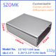 "32*82*100mm / 1.26*3.22""3.94"" Electronic Extrusion Aluminum Circuit Board Enclosure Project Box Case DIY"