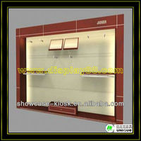 Retail clothes shop 20x5m garment store decoration to display hang wall showcase display rack
