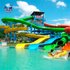 Professional make a water slide game+combination of spiral water slide factory in china