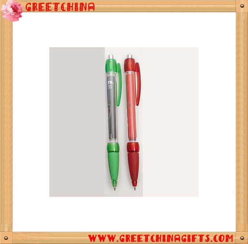 Promotional Pulling Picture Pen retractable banner Ball Point Pen