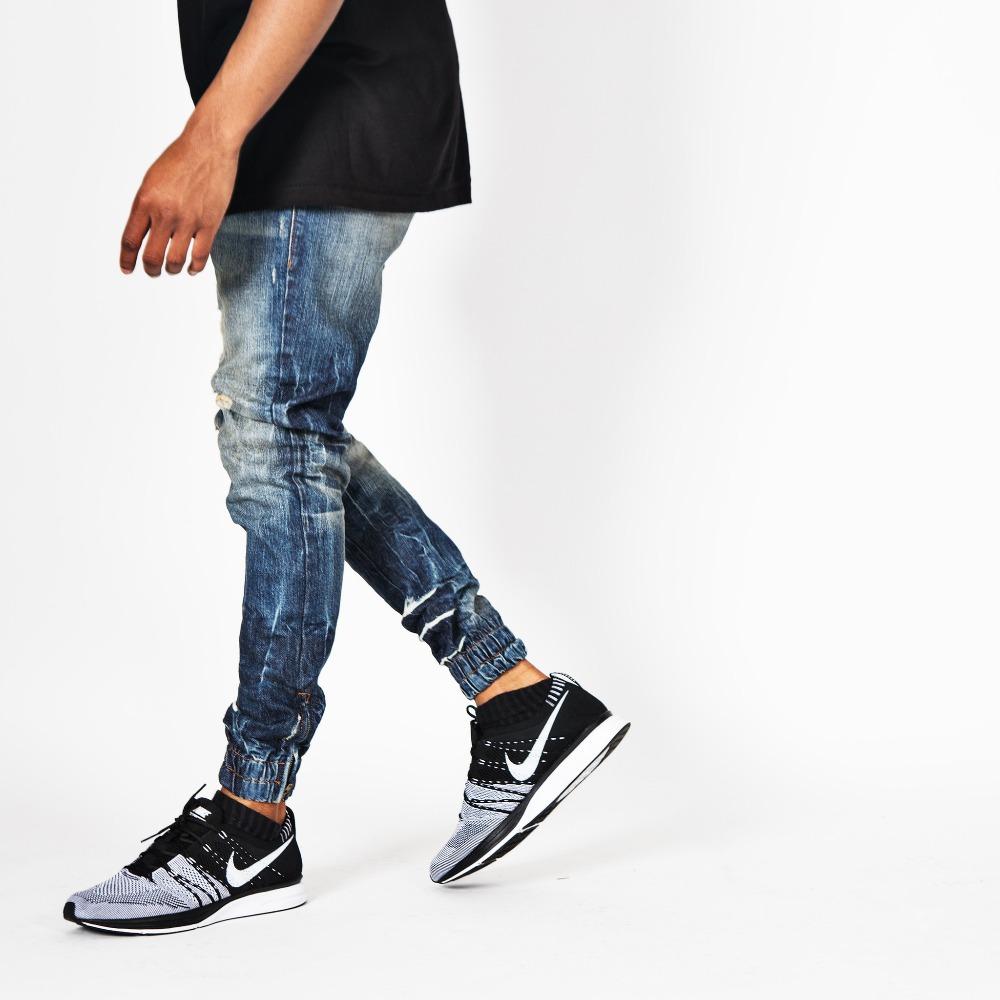 Blue Fashion Jogger Jeans Pants Man Jogger Jeans Buy Blue Fashion Jogger Jeans Pants Man Jogger Jeans Fashion Classic Blue Jean Pants Product On Alibaba Com