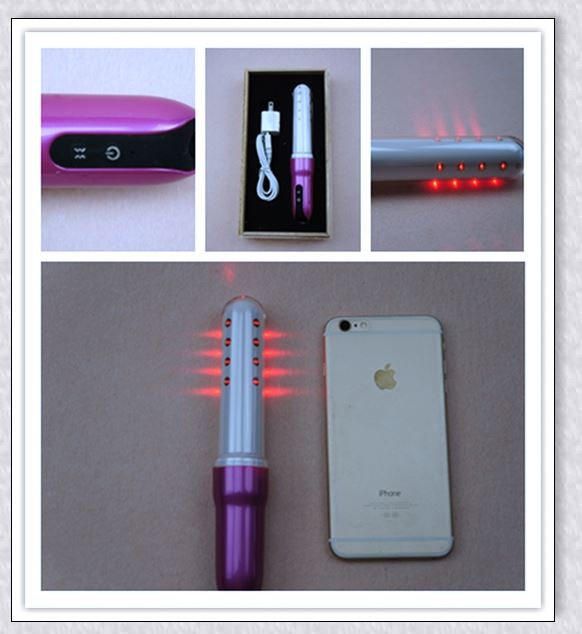 Distributors logo printed led light therapy gynaecology rehabilitation equipment with bio laser treatment