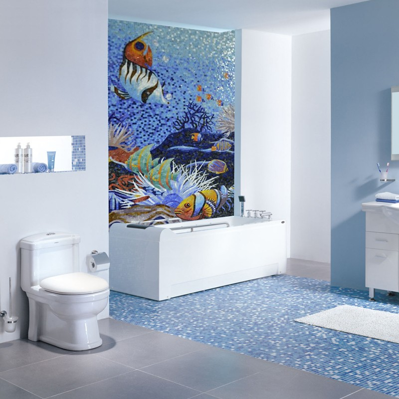 ljo jy jh oc02 sottomarino mosaico mondiale pittura bagno rivestimenti dei prezzi delfino mattonelle