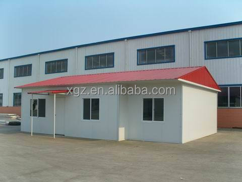 low cost home house prefabricated steel building