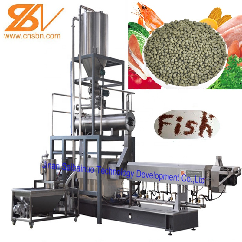 China Manufacture Fish food production equipment