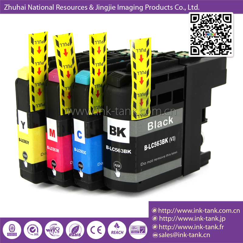 Lc563bk Lc563c Lc563m Lc563y Compatible Brother Inkjet Cartridge ...