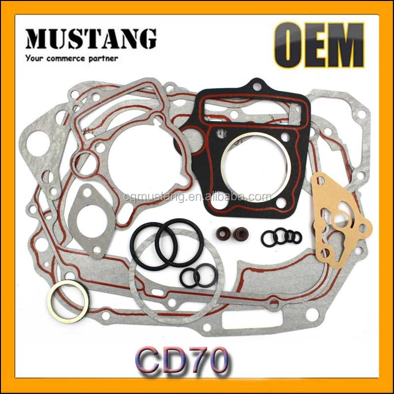 China 2016 motorcycle CD70 Full Gasket parts Gaskets of motorcycle engine part
