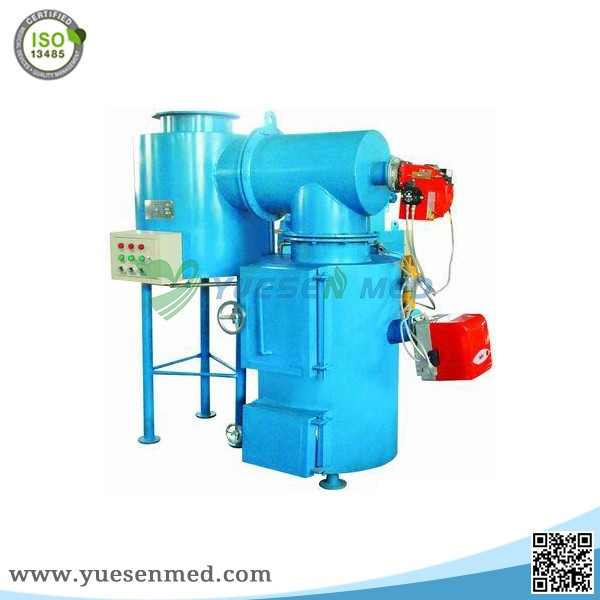 medical small smokeless hospital waste incinerator