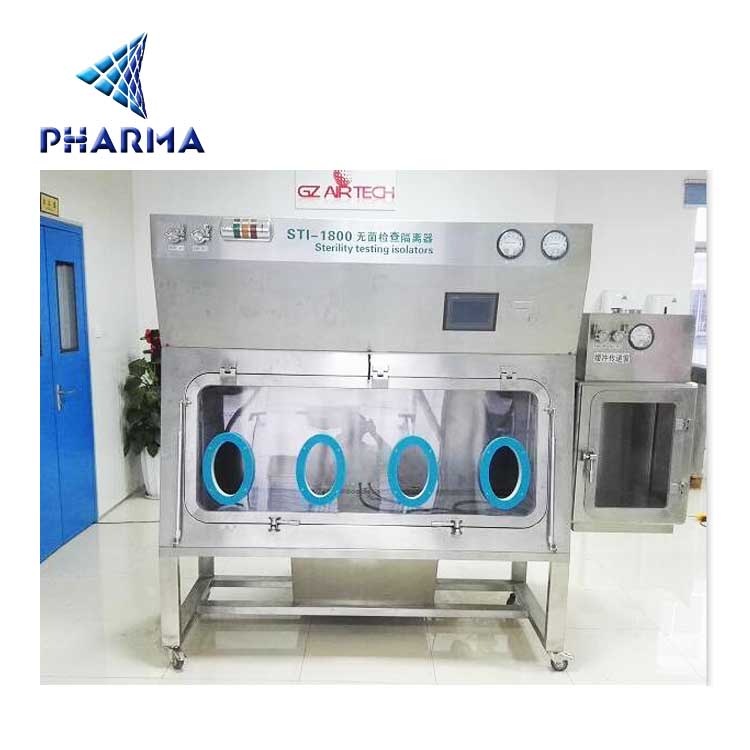 Isolator cover glass bottle infusion filling machine for clean room