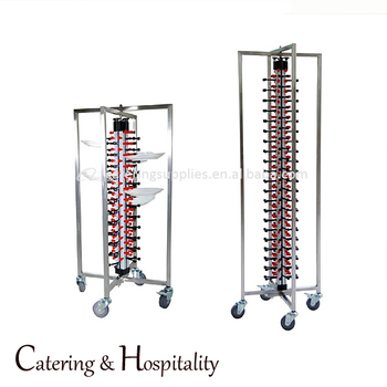 kitchen high stability Stainless steel Mobile Adjustable Plate Rack 48/84- plates storage jack  sc 1 st  Alibaba & Kitchen High Stability Stainless Steel Mobile Adjustable Plate Rack ...
