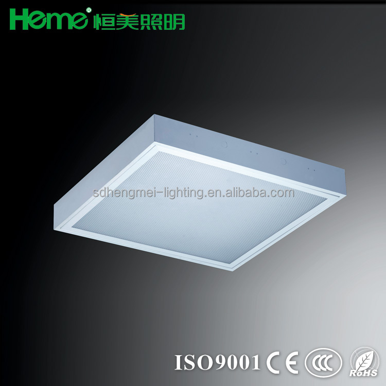 Fluorescent Light Fixture Plastic Cover T8 Opal Prismatic Lighting Fitting Recessed Troffer