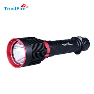 High quality Tactical brightest diving torch underwater diving light with 26650 32650 battery