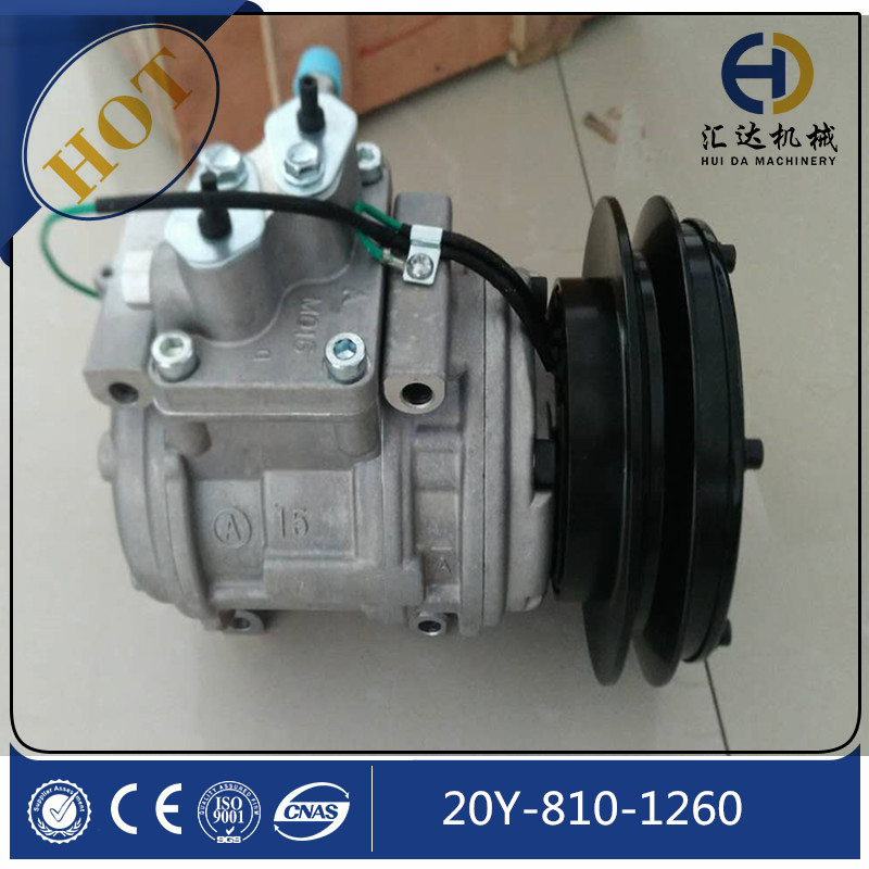 JINING HUIDA 20Y-810-1260 PC200-8 airconditioner compressor