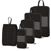 hotsale high quality compression travel luggage organizer packing cubes 6 piece