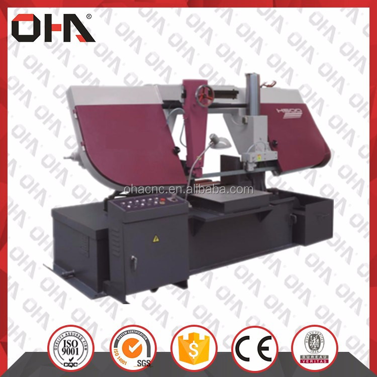 "INTL ""OHA"" Brand H-500 Double Column Band Saw, applications of dc choppers, cnc machine for sale in Russia"