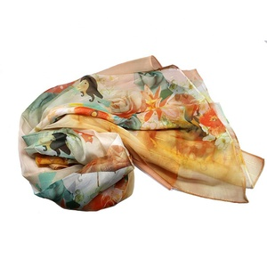 hot sale cool lady scarf latest design with your label