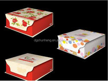 coated paper color printed for the Valuable type of folding gift boxes for electronic products and gifts