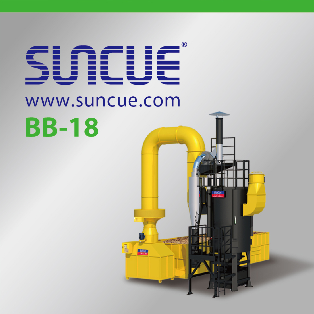 Suncue BB- Biomass Paddy Rice Husk Grain Dryer Furnace
